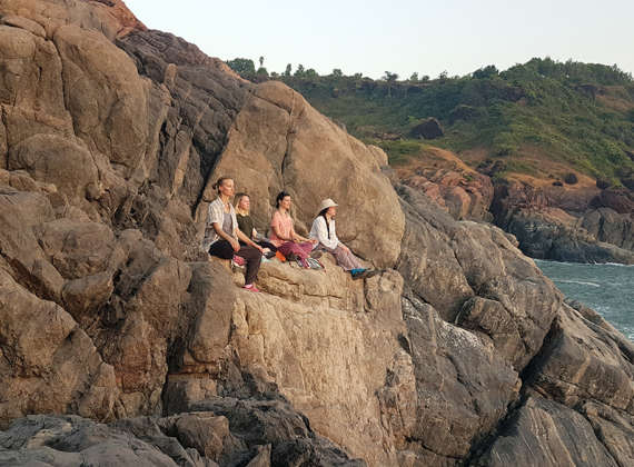 Two weeks Yoga retreat classes in Rishikesh, India