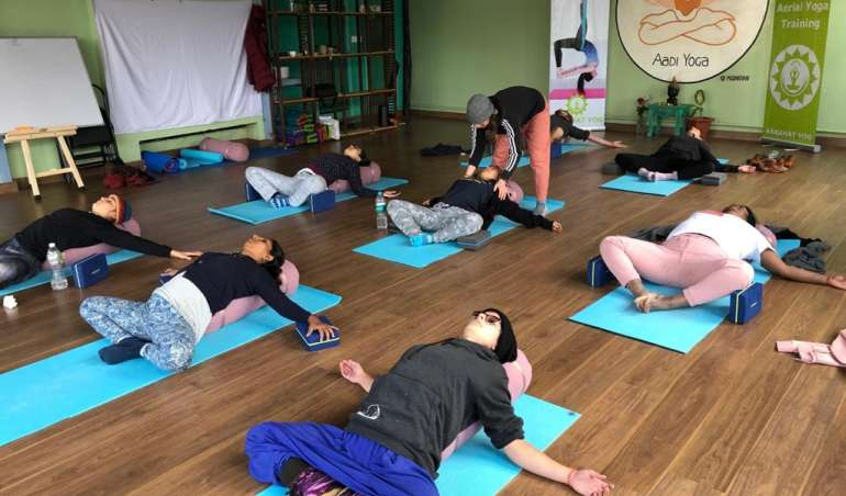 Yoga Drop-in Classes Rishikesh India